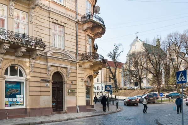 Apartment Apartments near Hrushevskoho , Lviv: photo, prices, reviews