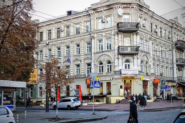Развлечения в центре Киева