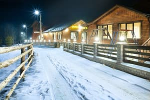Hotels Carpathians. Hotel 5 Kaminov
