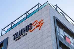 Hotels Lviv. Hotel Taurus City