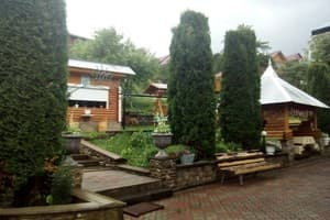 Hotels Carpathians. Hotel The farmstead in Vlasia