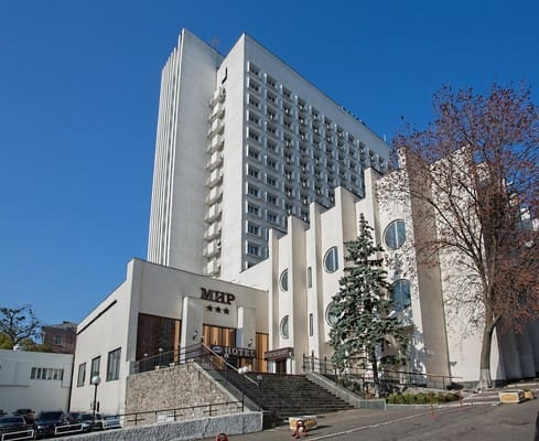 Hotel Mir, Kyiv: photo, prices, reviews