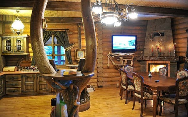 Cottage Derevyanniy Srub , Myhove: photo, prices, reviews