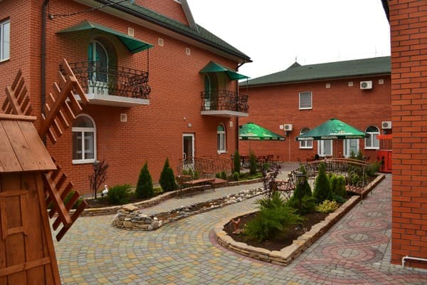 Hotel Barvinok, Pryazovske: photo, prices, reviews
