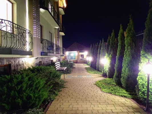 Hotel Hermes Resort Hotel, Truskavets: photo, prices, reviews