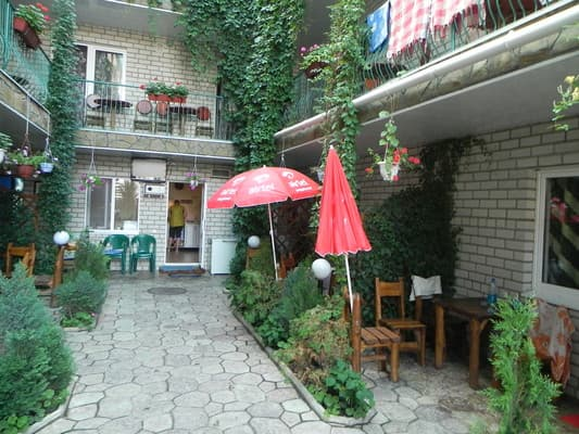 Boarding house Hutorok U Viktora, Zalizny Port: photo, prices, reviews