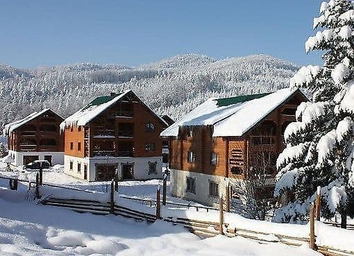 Tourist complex  Edelveis cottage town , Myhove: photo, prices, reviews