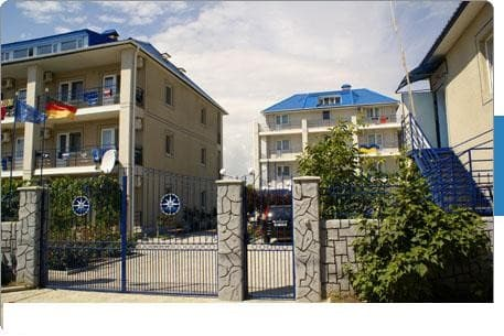 Boarding house Admiral , Zalizny Port: photo, prices, reviews