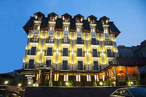 Hotels Truskavets. Hotel Golden Crown
