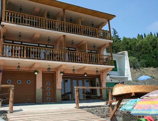 Hotel Fregat Santa Mariya, Alushta: photo, prices, reviews