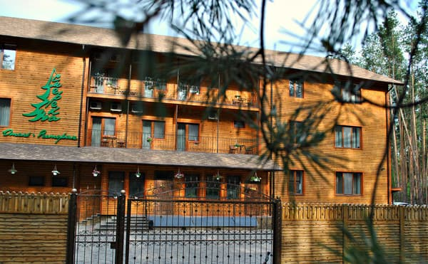 Hotel and restaurant complex Smereka,  Sviatohirsk: photo, prices, reviews