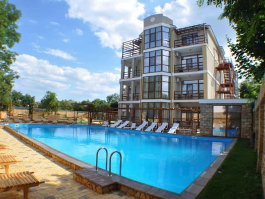 Boarding house Kalina, Serhiivka: photo, prices, reviews