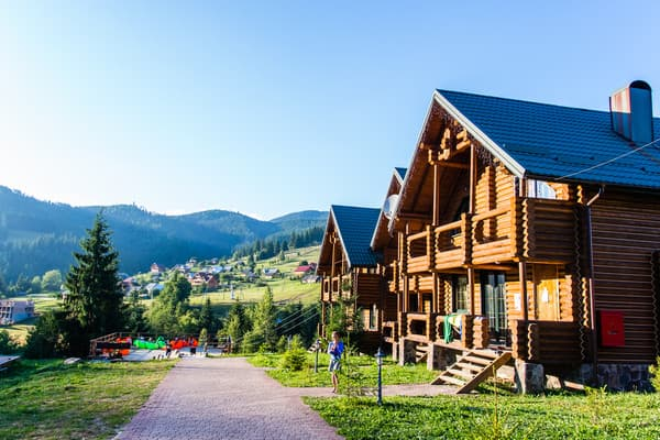 Guest Court Krasna Poliana, Bukovel: photo, prices, reviews