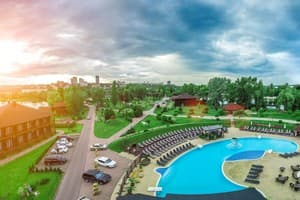Hotels  Dnipro. Hotel Best River Resort Bartolomeo