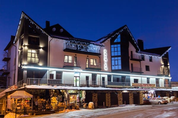 Hotel Premier, Yaremche: photo, prices, reviews