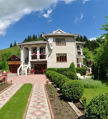 Private estate Okolytsia, Verkhovyna: photo, prices, reviews