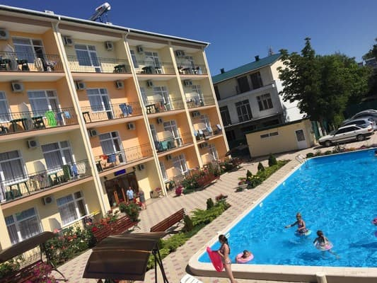 Hotel Oksamit, Zalizny Port: photo, prices, reviews