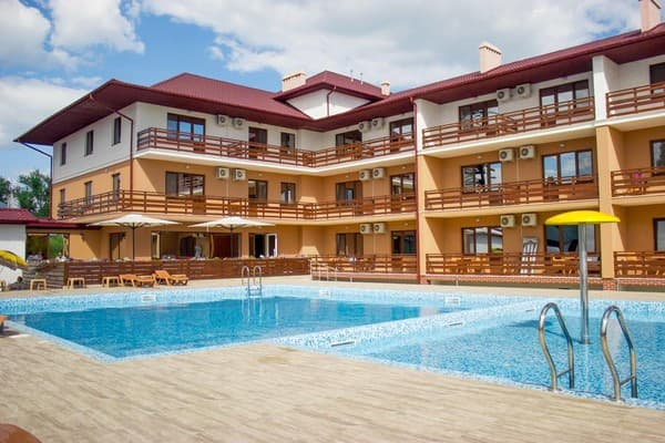 Hotel Lazurniy bereg, Zatoka: photo, prices, reviews