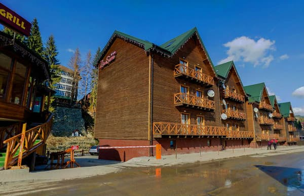 Apartment hotel ZimaSnow Ski & Spa, Bukovel: photo, prices, reviews