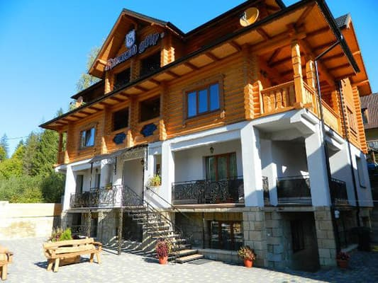 Hotel Kniazhyi dvir, Yaremche: photo, prices, reviews