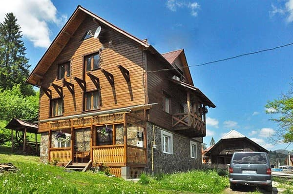 Private estate Alina, Slavske: photo, prices, reviews