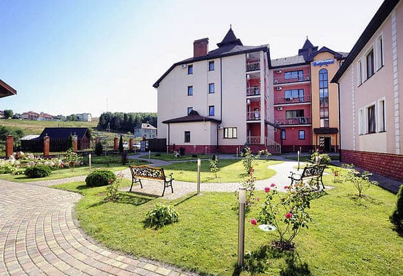 Hotel Sribnyi Vodohrai, Polyana: photo, prices, reviews