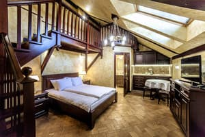Hotels . Hotel 4-bedded loft room.