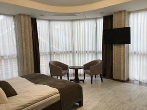 Hotels . Hotel Suite  Junior  with panoramic view.