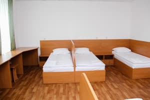 Hotels . Hotel Multiple bedded room with facilities on the floor (hostel).