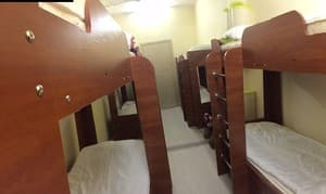 Hotels . Hotel 8-bedded mixed dormitory room.