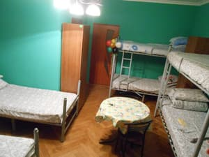 Hotels . Hotel 6-bedded mixed room.