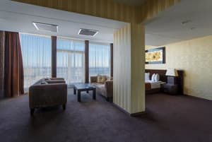 Hotels . Hotel Double Junior Suite with sea view.