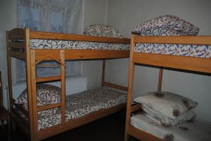 Hotels . Hotel 8-bedded room.