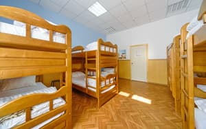 Hotels . Hotel 10-bedded mixed dormitory room.