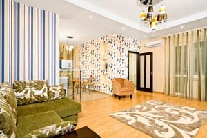 Hotels Kyiv. Hotel Apartment on Saksahanskoho Street, 121 (6 floor, ID V 17)