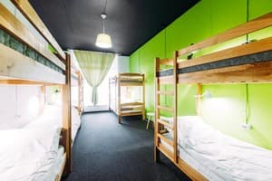 Hotels . Hotel A place in a 10-bed room for women with a bathroom.