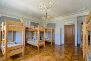Hotels . Hotel 10-bedded dormitory room.