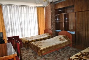 Hotels . Hotel Bed in 6-bedded female room.
