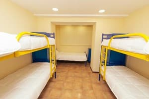 Hotels . Hotel 5-bedded room.
