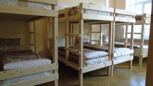 Hotels . Hotel 12-bedded mixed standard dormitory room .