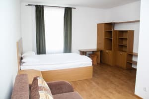 Hotels . Hotel Suite with a double bed(in a hostel). .
