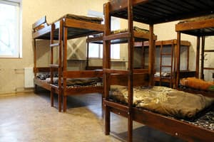 Hotels . Hotel Bed in Male Dormitory 12-bed room .
