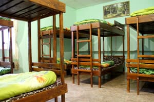 Hotels . Hotel Bed in Male Dormitory 10-bed room .