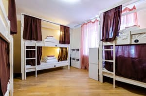 Hotels . Hotel Bed in Female Dormitory 8-bed room .