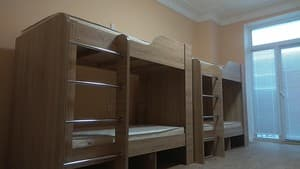 Hotels . Hotel Bed in Male Dormitory 6-bed room .