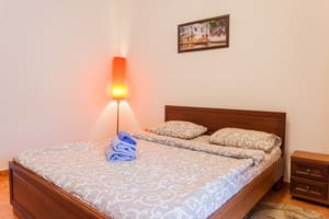 Hotels . Hotel Apartment with bedroom and living room 503507.