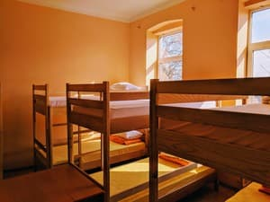 Hotels . Hotel Bed in Mixed Dormitory 10-bed room Mesto v obshem 10-mestnom nomere.