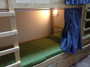 Hotels . Hotel Bed in Mixed Dormitory 6-bed room 6-bedded mixed dormitory room.