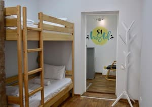 Hotels . Hotel 4-bedded female room.
