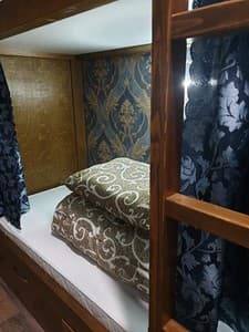 Hotels . Hotel Bed in Mixed Dormitory quadruple room 4 sky.